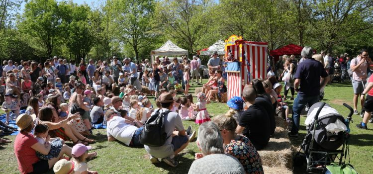 May Fayre 2018 Punch and Judy show