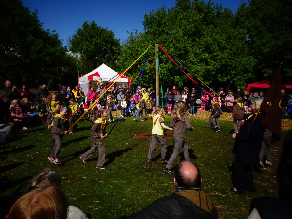 May Fayre 2019 proves a winner despite the chill